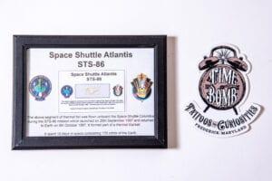 Space Shuttle Atlantis Piece
