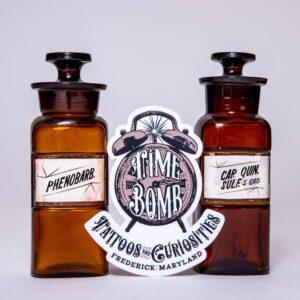 Phenobarb and Quinine Bottles