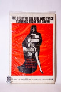 The Woman Who Wouldn't Die Poster