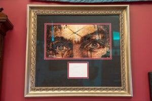 Charles Manson Blood Painting
