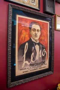 Proffesseur Leno Magician Framed Print