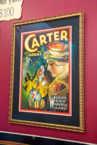 Carter the Great: the Weird and Wonderful Wizard