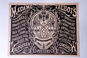 Madame Talbot's Poster Display