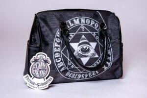 Ouija Mystic Eye Barrel Style Hand Bag