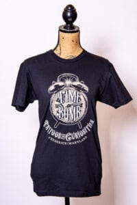 Black Time Bomb T-Shirt (available in both, men & women's)