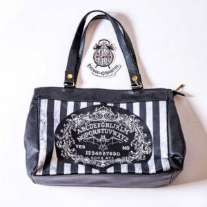 Ouija Board Baroque Stripe Large Hand Bag