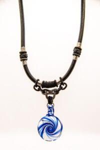 Necklace w/ Glass Pendant