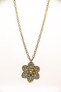 Flower Bullet Necklace