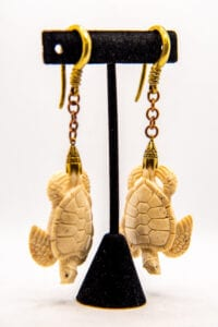 8g Bone Turtle – Brass & Copper Hangers