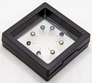 Neometal CZ Nipple Side Gems