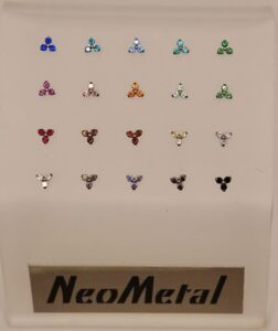 Neometal Trinity Tops