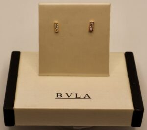 BVLA 14k Micro Pave Strip w/ Millgrain Edges